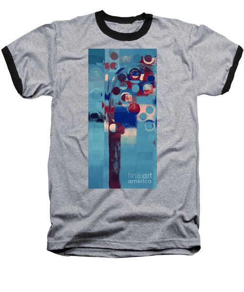 Baseball T-Shirt featuring the painting Bubble Tree - 85l-j4 by Variance Collections