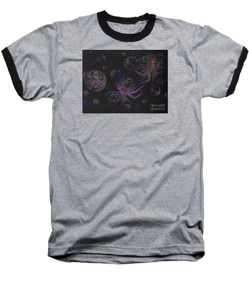Bubble Wand Baseball T-Shirt by Dawn Fairies