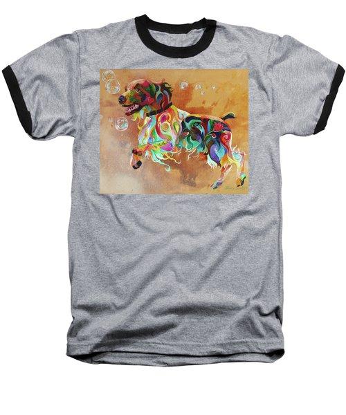 Bubbles  English Springer Baseball T-Shirt