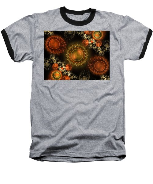 Bubbles Baseball T-Shirt by Ester Rogers