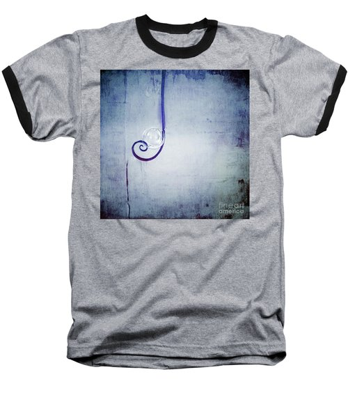 Baseball T-Shirt featuring the digital art Bubbling - 033a by Variance Collections