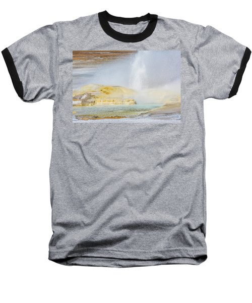 Baseball T-Shirt featuring the photograph Bubbling Earth by Colleen Coccia
