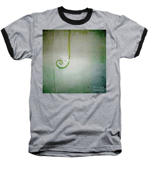 Baseball T-Shirt featuring the digital art Bubbling -  S24aabbcc by Variance Collections