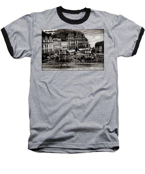 Bucharest - Old Town  Baseball T-Shirt