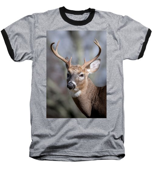 Buck Headshot Baseball T-Shirt