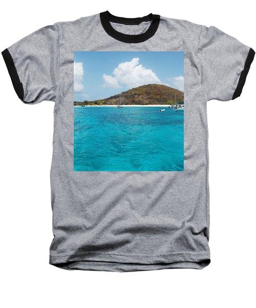 Buck Island Reef National Monument Baseball T-Shirt