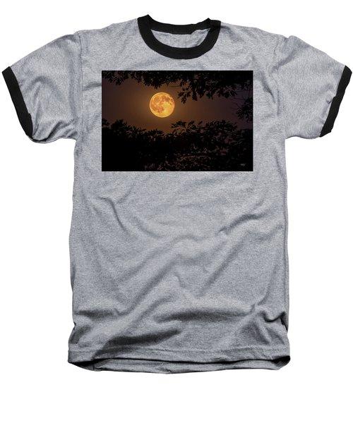 Baseball T-Shirt featuring the photograph Buck Moon 2016 by Everet Regal