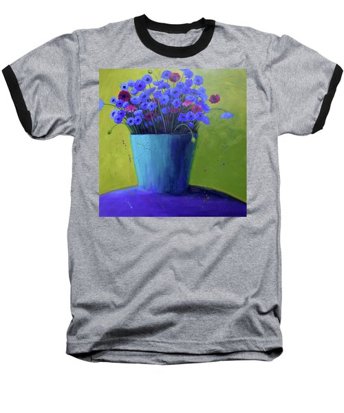 Bucket Of Blue Baseball T-Shirt