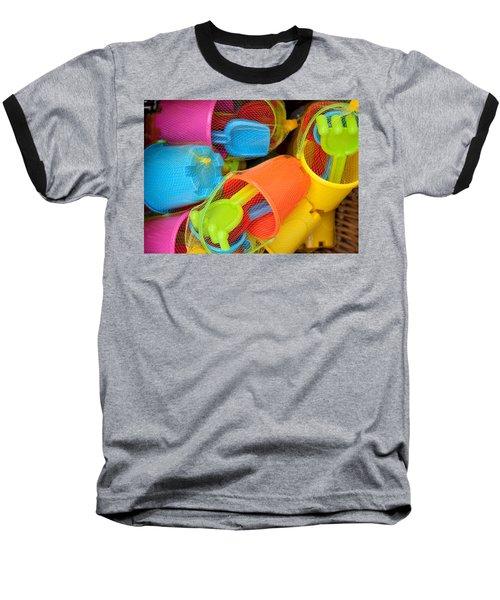 Buckets And Spades Baseball T-Shirt