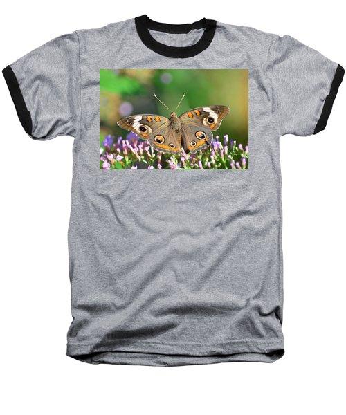 Buckeye Butterfly Baseball T-Shirt