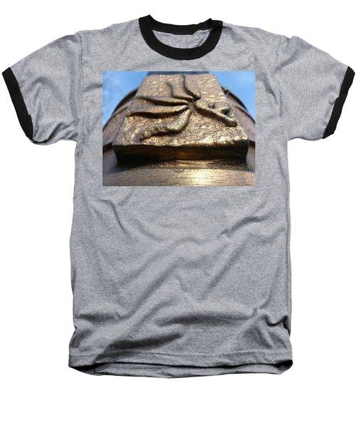 Baseball T-Shirt featuring the photograph Buckeye Collar by Robert Knight