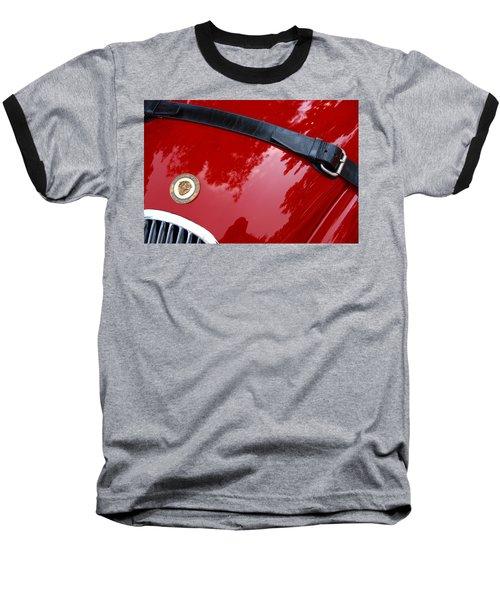 Baseball T-Shirt featuring the photograph Buckle Up by John Schneider