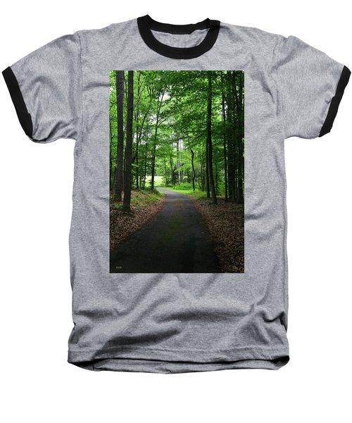 Buckner Farm Path Baseball T-Shirt by Dana Sohr