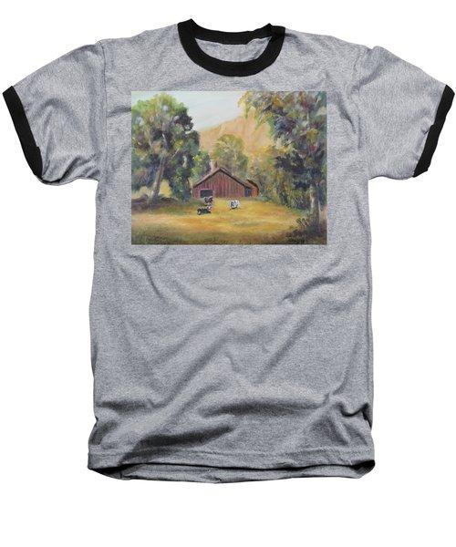 Bucks County Pa Barn Baseball T-Shirt