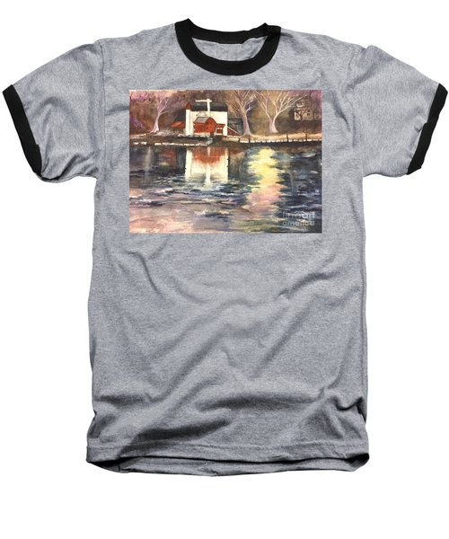 Bucks County Playhouse Baseball T-Shirt by Lucia Grilletto