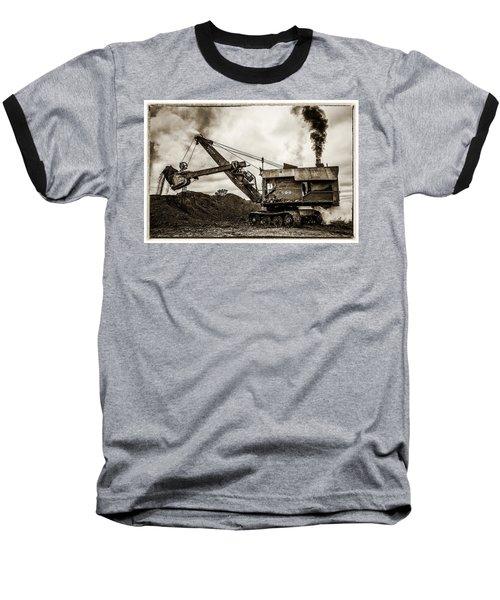 Bucyrus Erie Shovel Baseball T-Shirt