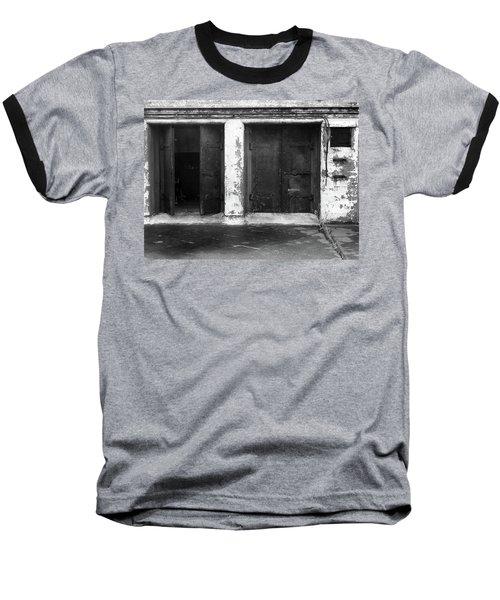 Buddha 2 Baseball T-Shirt by Laurie Stewart