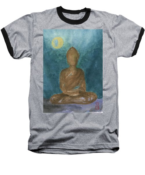 Buddha Abstract Baseball T-Shirt