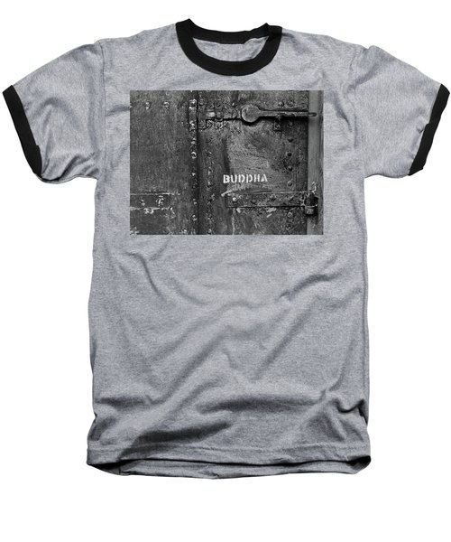 Baseball T-Shirt featuring the photograph Buddha by Laurie Stewart