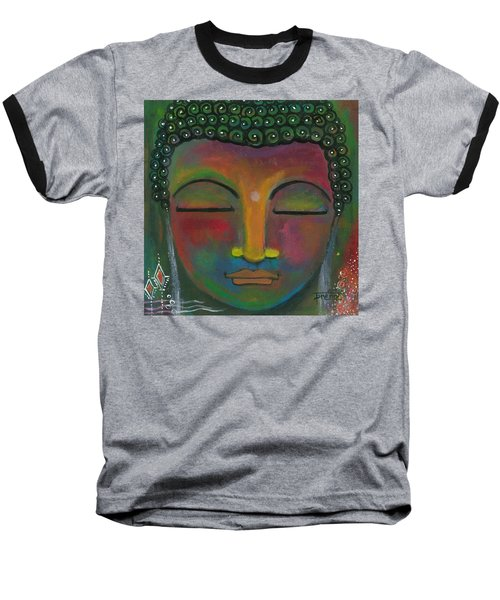 Buddha Painting Baseball T-Shirt