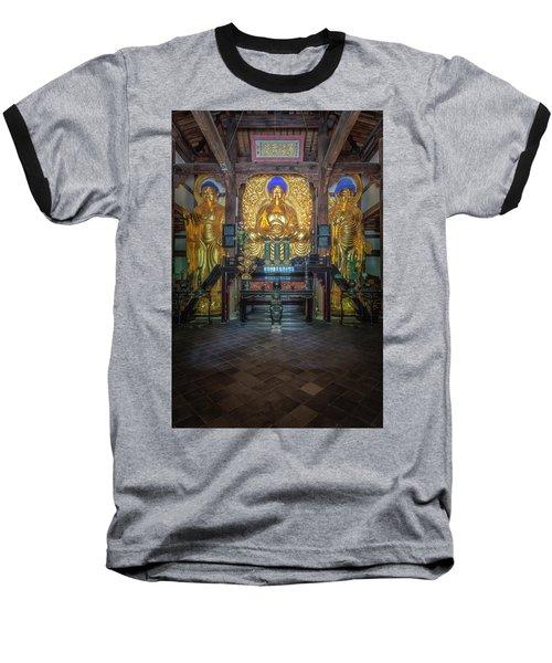 Buddhas Baseball T-Shirt