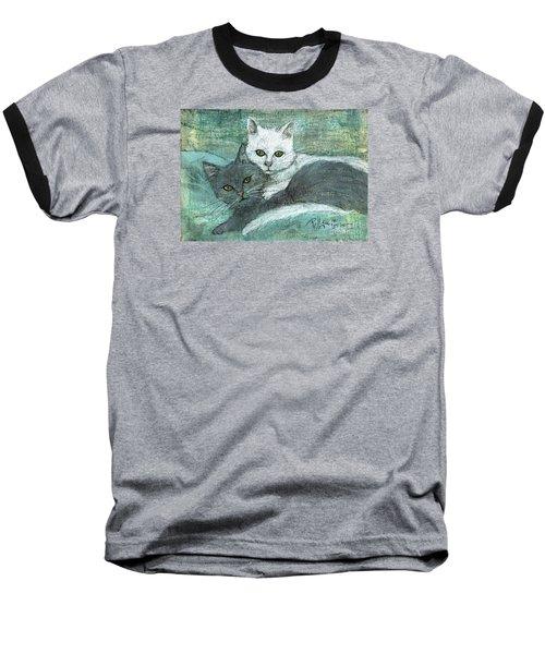 Buddies Baseball T-Shirt by P J Lewis