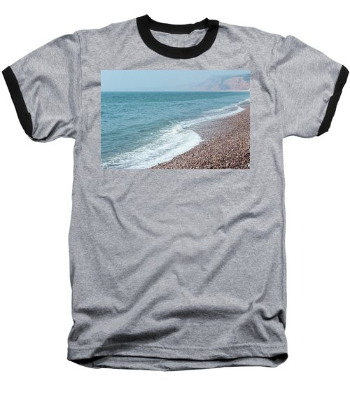 Budleigh Seascape II Baseball T-Shirt