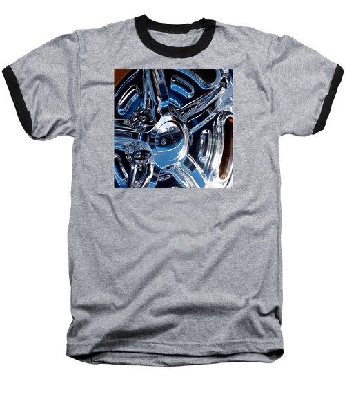 Budnik Wheel 01 Baseball T-Shirt by Rick Piper Photography