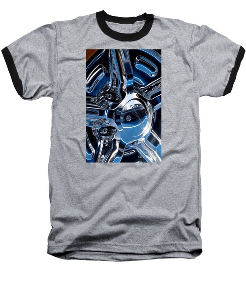 Budnik Wheel 03 Baseball T-Shirt by Rick Piper Photography