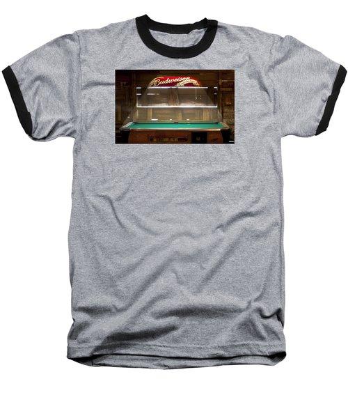 Budweiser Light Pool Table Baseball T-Shirt