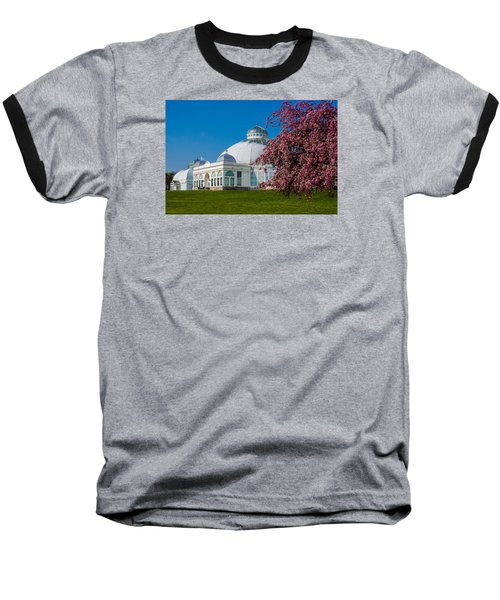 Buffalo Botanical Gardens North Lawns Baseball T-Shirt