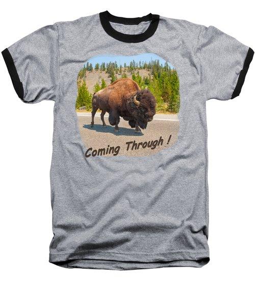 Buffalo Baseball T-Shirt by John M Bailey