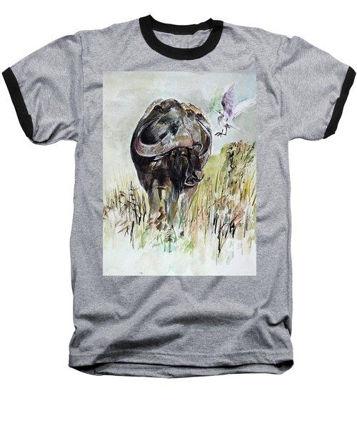 Buffalo Baseball T-Shirt by Khalid Saeed
