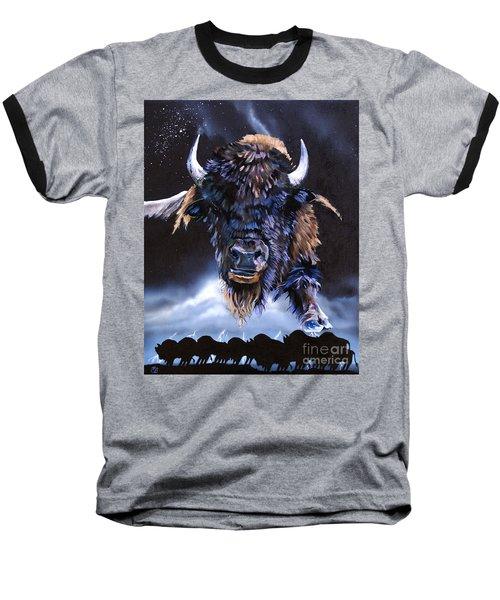 Buffalo Medicine Baseball T-Shirt
