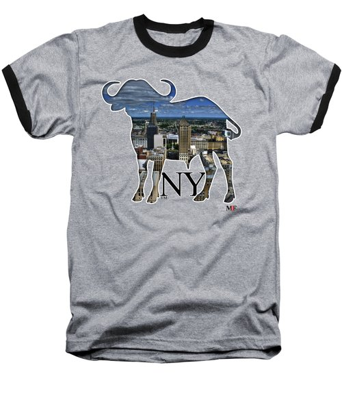 Buffalo Ny Court St Baseball T-Shirt