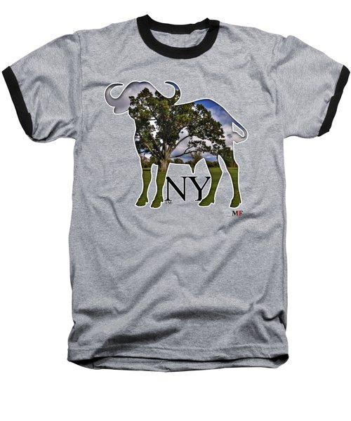 Buffalo Ny Delaware Park Baseball T-Shirt by Michael Frank Jr
