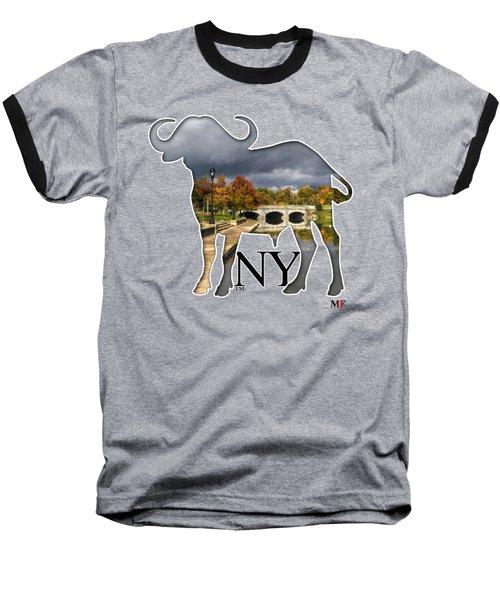 Buffalo Ny Hoyt Lake Baseball T-Shirt