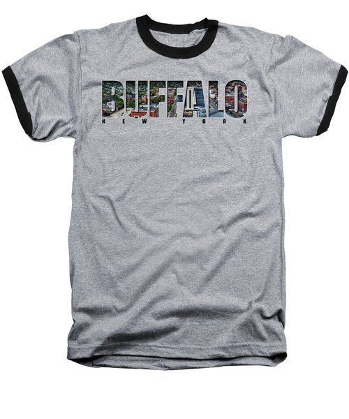 Buffalo Ny Niagara, Elmwood And Delaware Baseball T-Shirt
