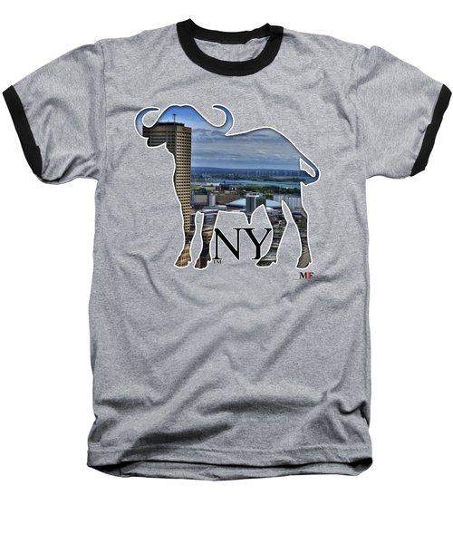 Buffalo Ny Skyway Baseball T-Shirt