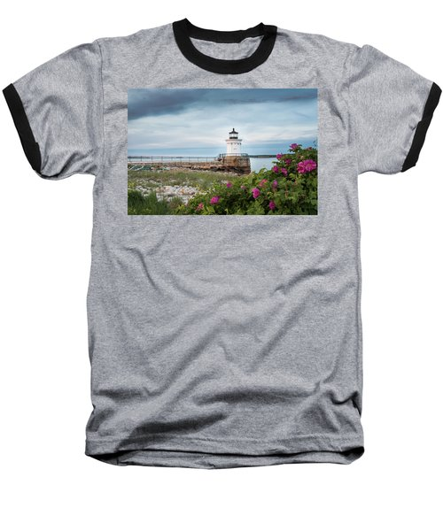 Bug Light Blooms Baseball T-Shirt