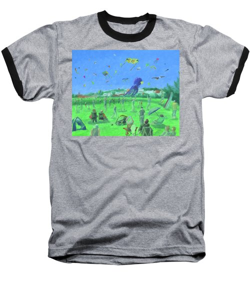 Bug Light Kite Festival Baseball T-Shirt