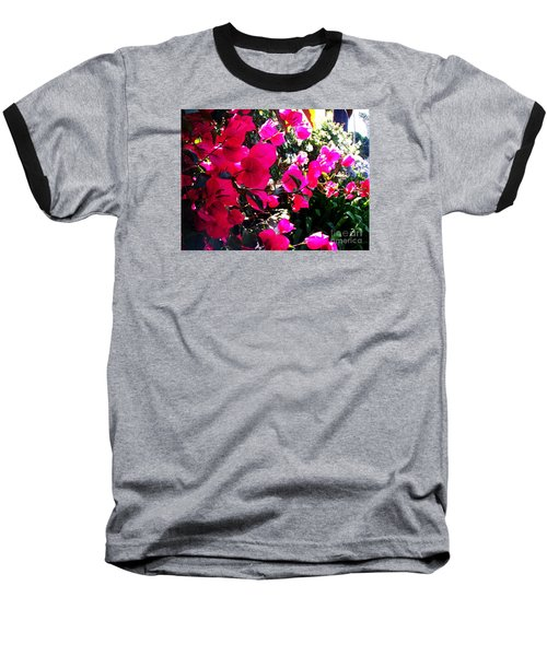 Baseball T-Shirt featuring the photograph Bugambilia by Vanessa Palomino