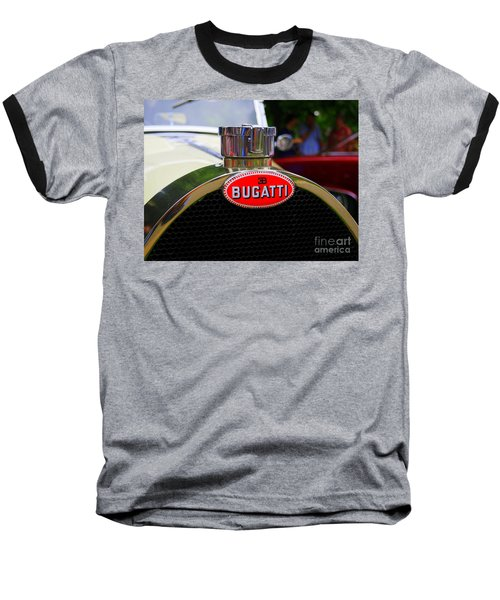 Bugatti Red Baseball T-Shirt