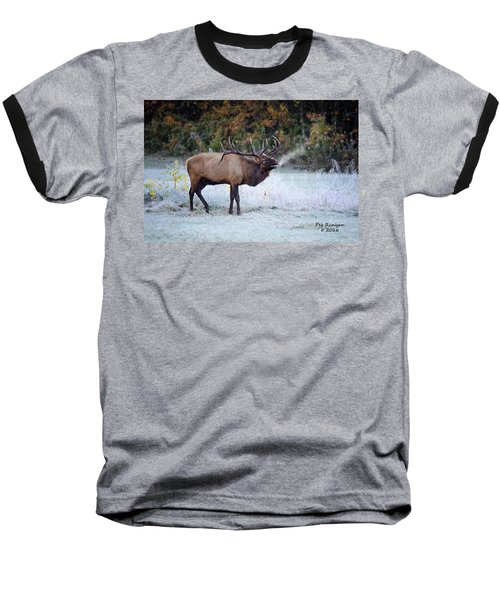 Bugle Of The Elk Baseball T-Shirt