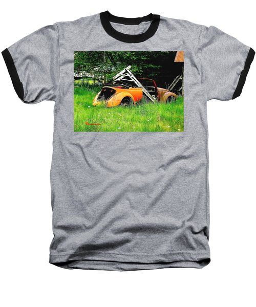 Baseball T-Shirt featuring the photograph Bugsy by Sadie Reneau
