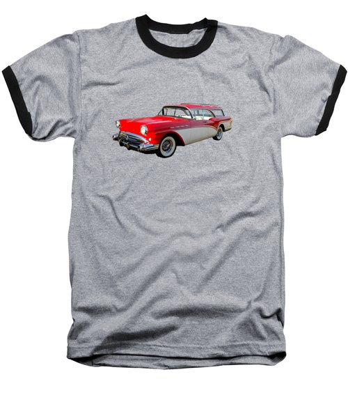 Buick Estate Wagon Baseball T-Shirt