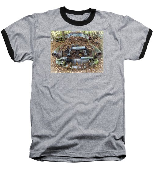 Buick In Decay Baseball T-Shirt