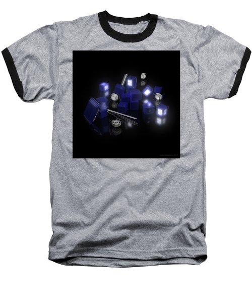 Building Blocks Of Space Time Travel Baseball T-Shirt
