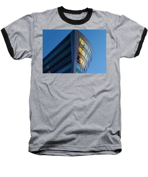 Building Floating In The Sky Baseball T-Shirt