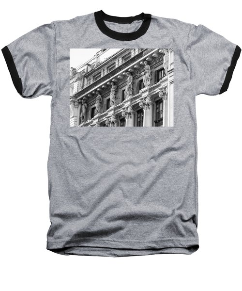 Baseball T-Shirt featuring the photograph Building by Silvia Bruno